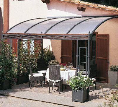 p rgola transparente para el patio casa y jardin pinterest preau sucr sal et pergola. Black Bedroom Furniture Sets. Home Design Ideas