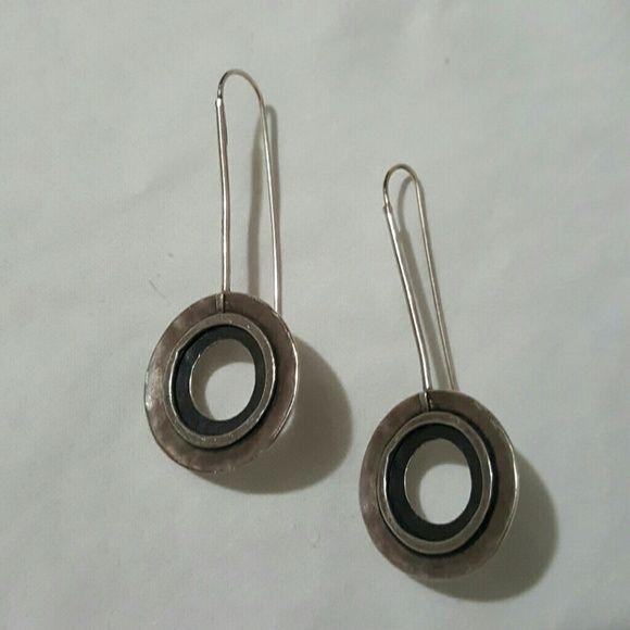 """Silpada earrings Sterling silver drop earrings Almost 2.5"""" long Silpada Jewelry Earrings"""