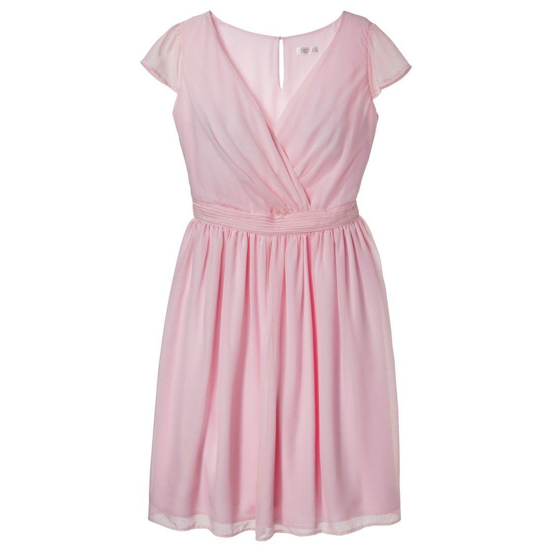 Womenus chiffon cap sleeve vneck bridesmaid dress fashion colors