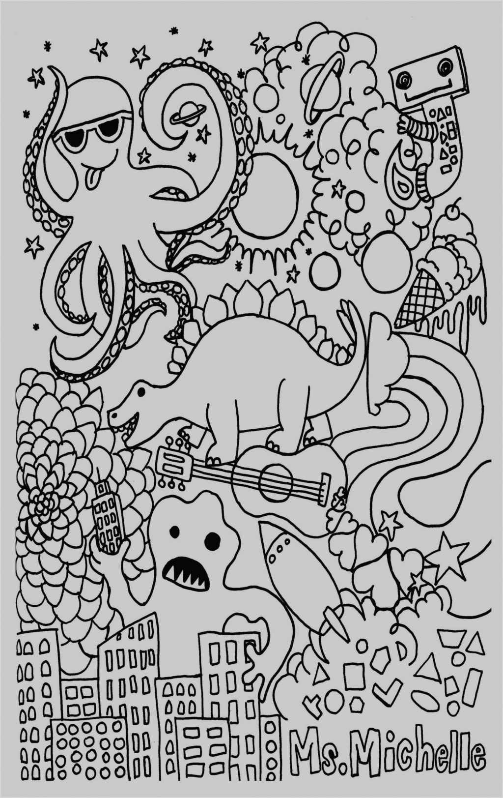 4 Worksheet Coloring Pages To Color Children Coloring