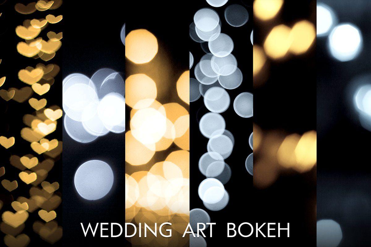Ad Wedding Bokeh Lights Overlays By Fixthephoto On