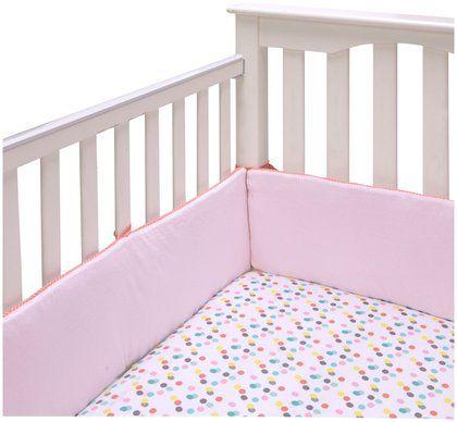 BananaFish MIGI Fitted Crib Sheet - Modern Blossom - Pink