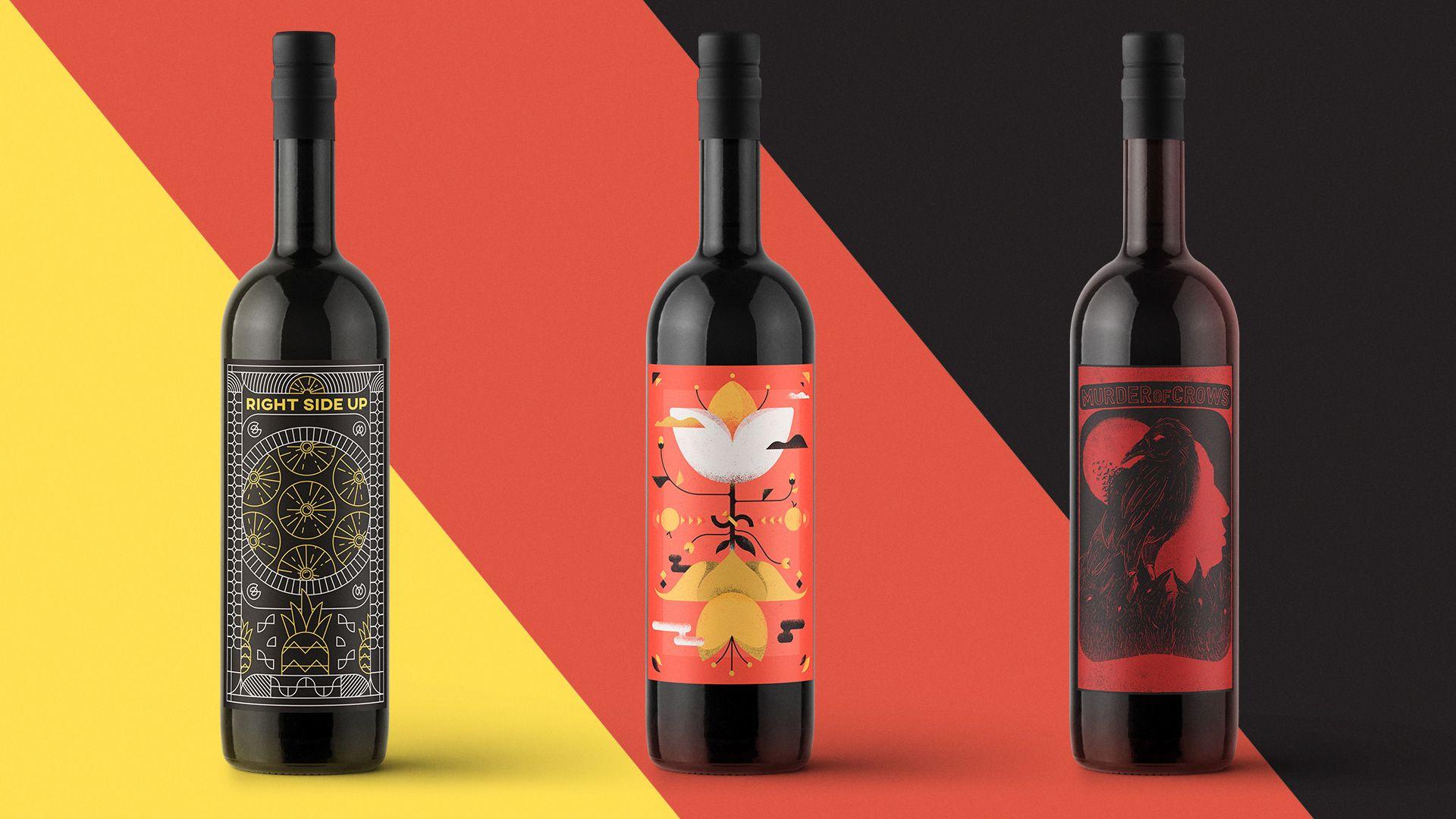 Mead Label On Behance Mead Labels Wine Bottle