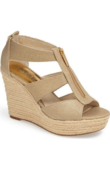MICHAEL Michael Kors 'Damita' Wedge Sandal (Women | Womens