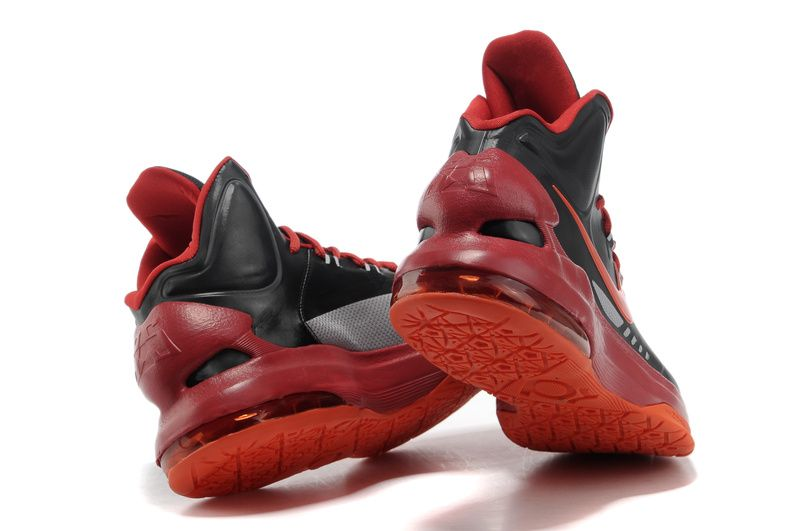 outlet store c2bb9 dd41f kevin durant shoes 2013 Nike KD V Black Bright Crimson University Red  Strata Grey 554988 005