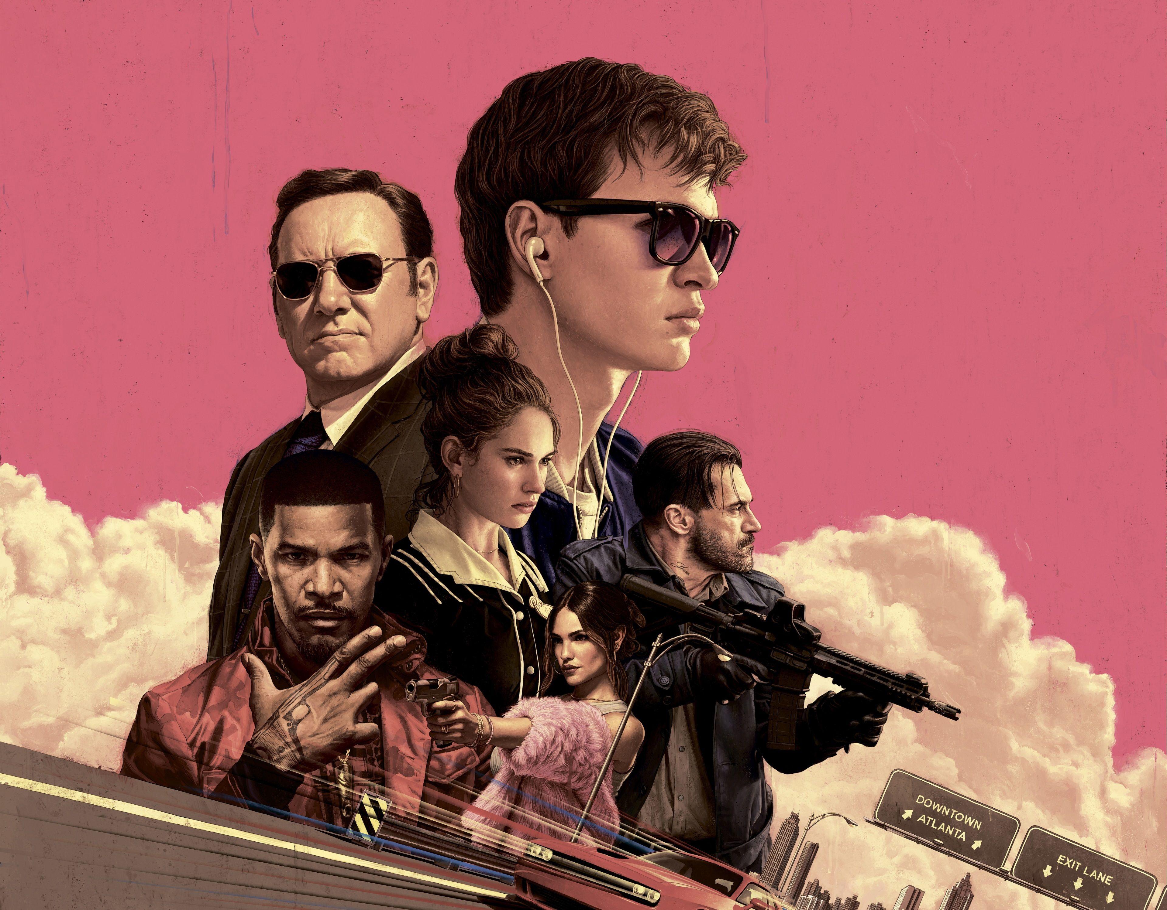 3840x2997 Baby Driver 4k Free Wallpaper Desktop Background Baby Driver Baby Driver Poster Baby Driver Full Movie