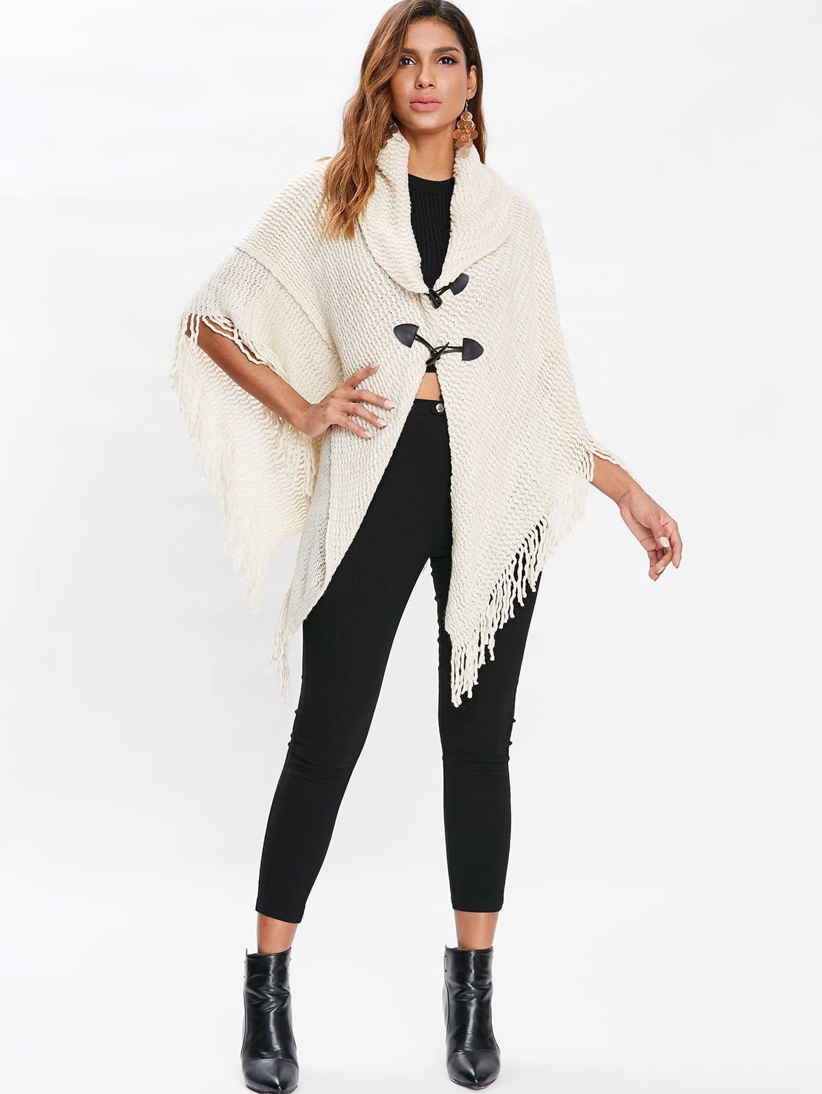 8326a9248 Dolman Sleeve Horn Button Cardigan -super cute and comfy! great for ...