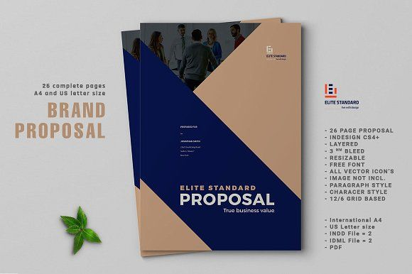 Proposal @creativework247 Brochure Design - Brochure layout - business proposal cover sheet