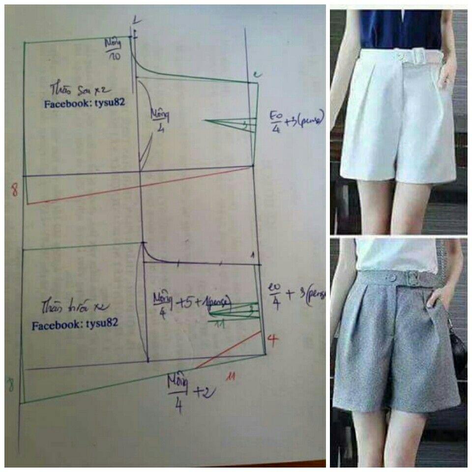 Pin von Yadira Ramirez auf Patrones / moldes ideas para costura ...