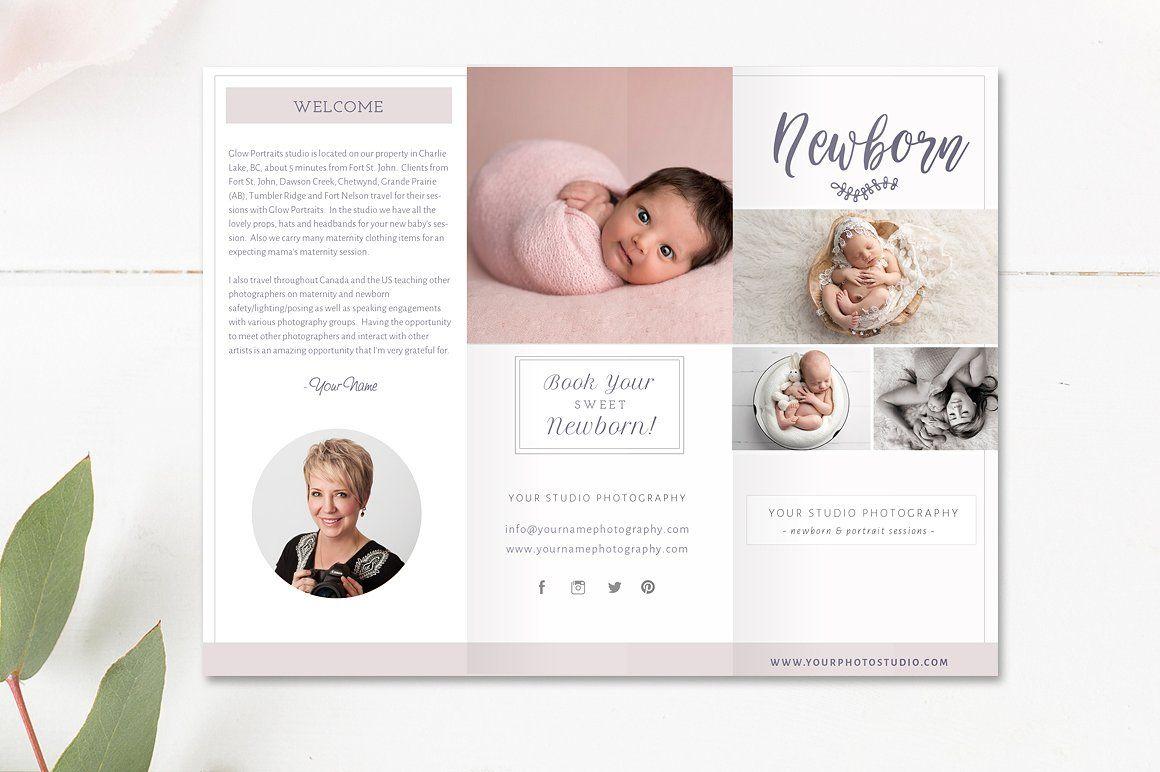Newborn Trifold Brochure Flyer   Pinterest   Brochures