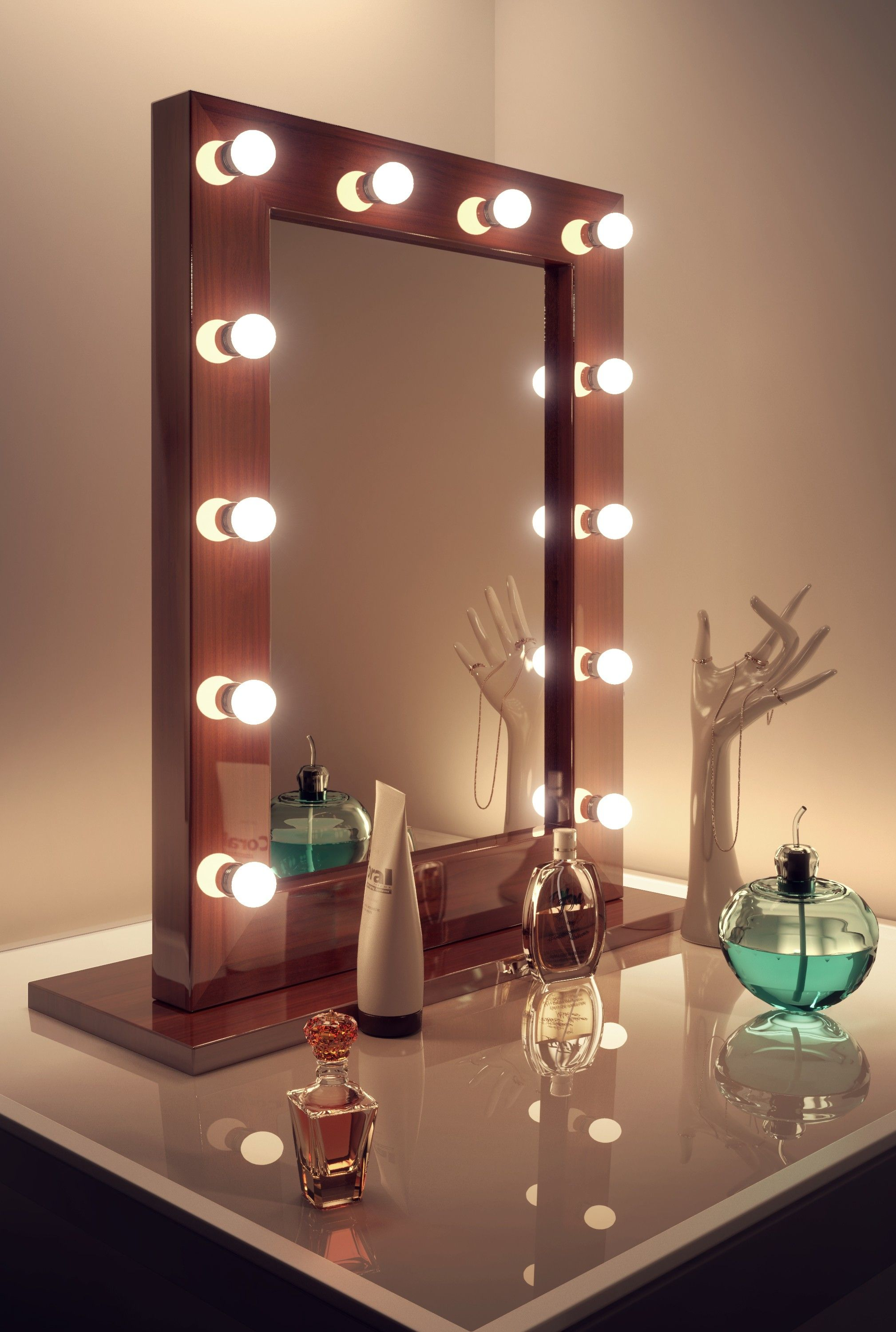Dark Miroir Hollywood Hollywood Mirrors Sale H800mm X W600mm X