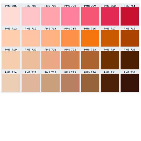 Pms matching chart