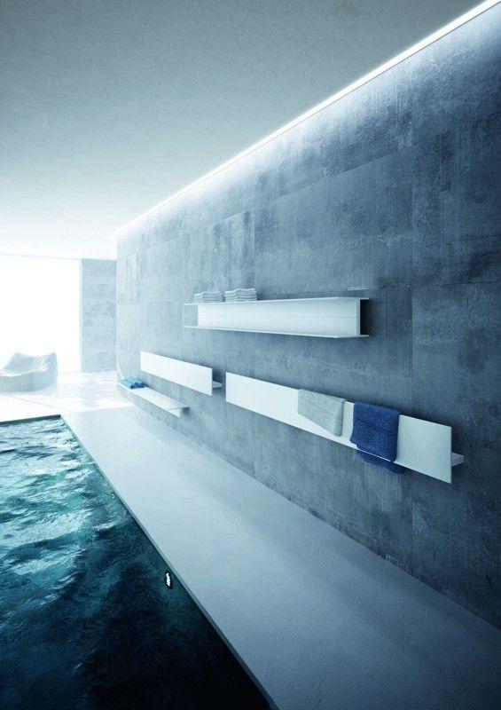 Antrax composizione del prodotto serie t con piscina Badezimmer - heizkörper badezimmer handtuchhalter