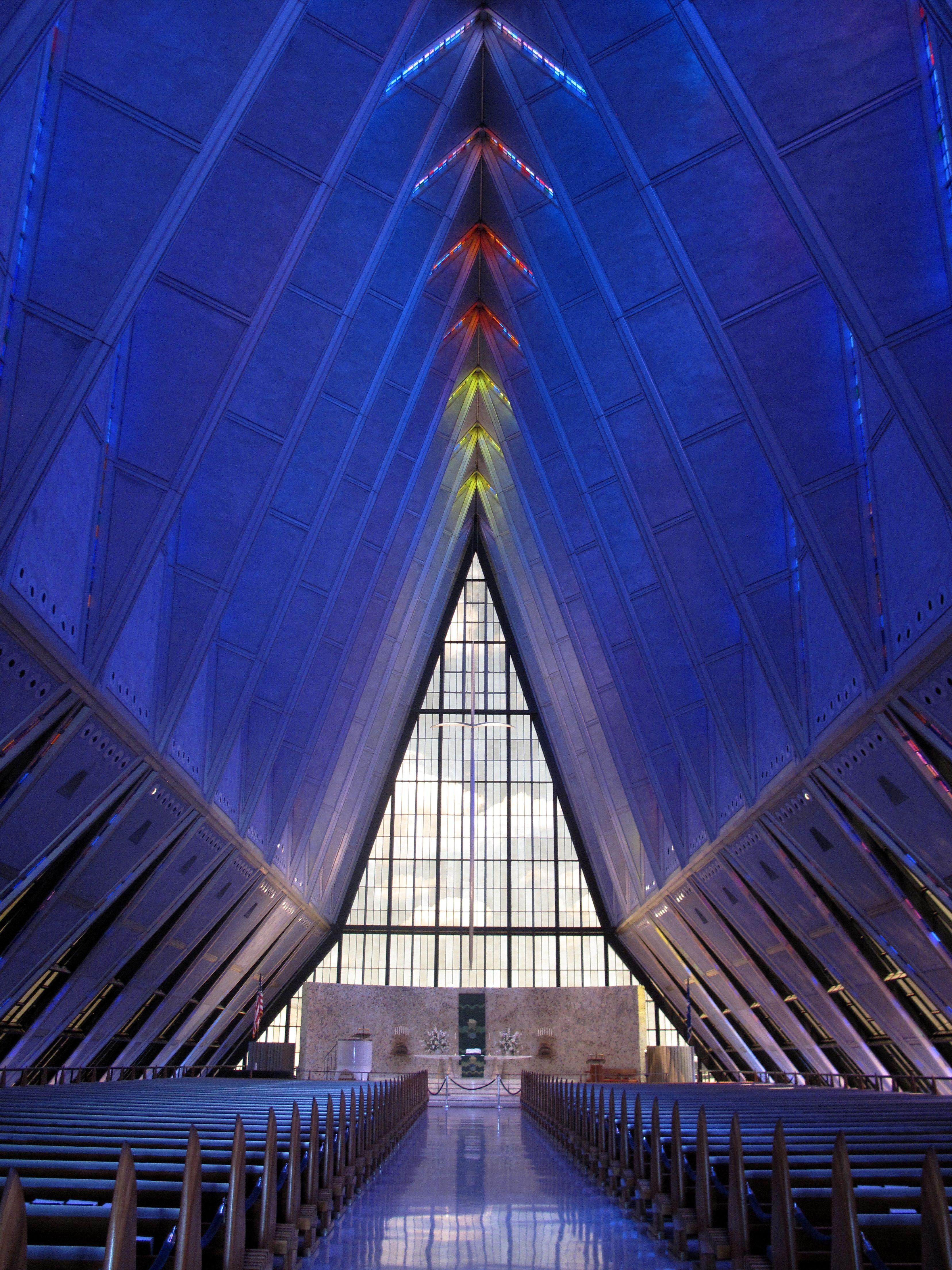 air force academy chapel Churches Pinterest