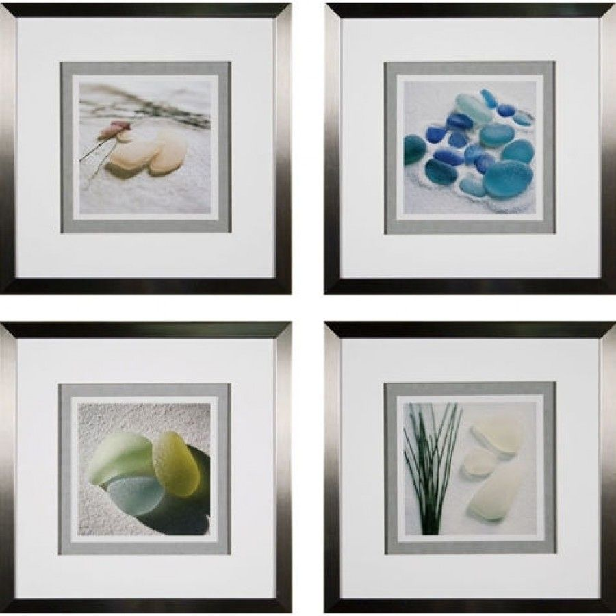 Wall Art Glass Framed : Phoenix galleries sea glass framed prints