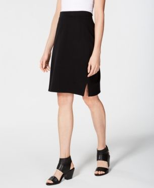 d5a96fe39 Organic Cotton Terry Pencil Skirt in 2019 | Products | Eileen fisher ...