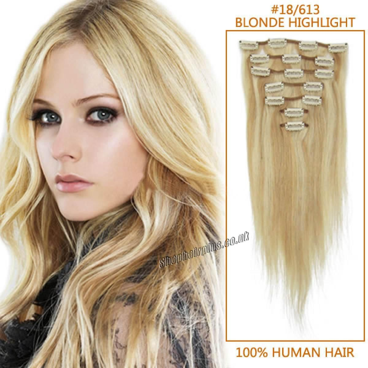 Clip In Human Hair Extensions Clip In Hair Extensions Uk