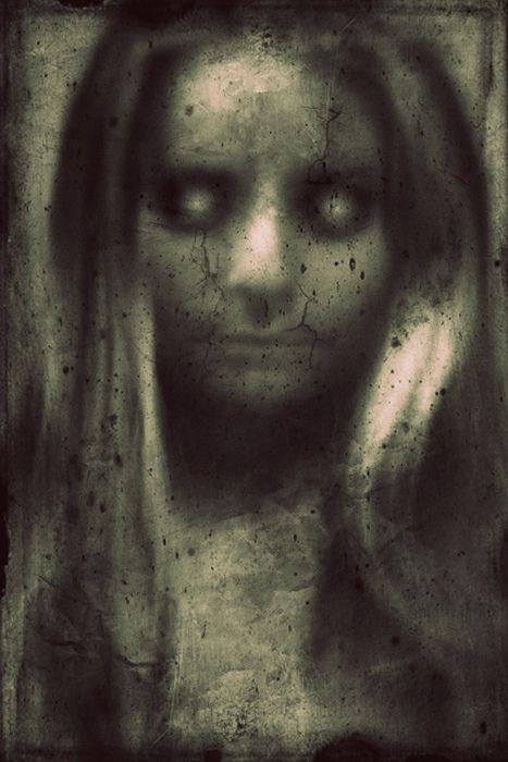 creepy girl pics