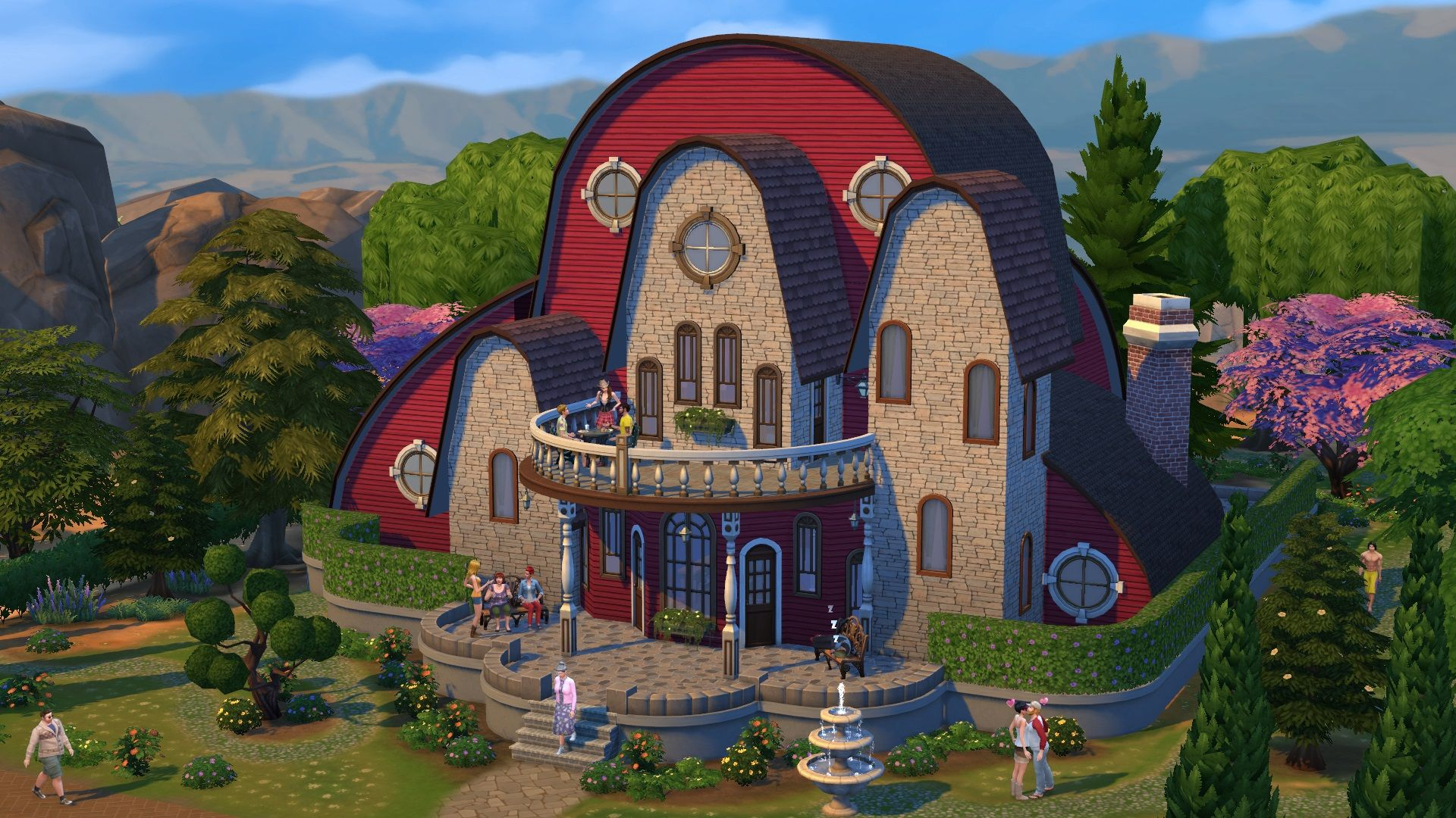 Image result for best houses ever made in sims
