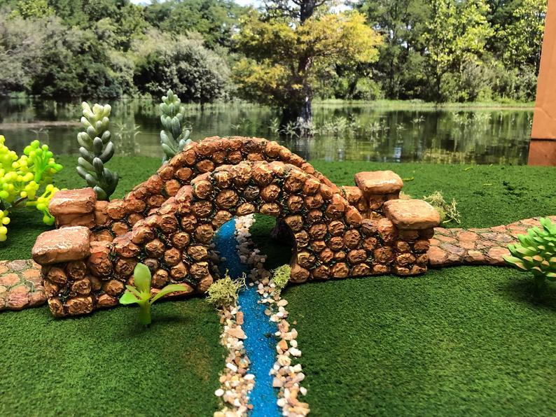 Fairy Garden Stone Bridge Fairy Garden Accessories Miniature Garden Fairy Garden Supply In 2020 Fairy Garden Decor Miniature Garden Fairy Garden Supplies