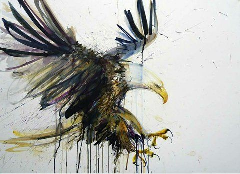 Be as fearless as an eagle. Do not be afraid to take chances.