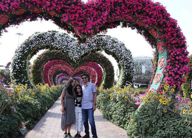 Hi Friends,This is the last of the part for Dubai Miracle Garden and I hope that you are liking these amazing new posts of all the places I have traveled in my life which I am bringing to you in a fun way. I am not mentioning any brands whatsoever in these posts and totally the content is written by me or from the facts mentioned on the website for the place.Aashish Rai with family #TheLifesWay #PhotoYatraThe Dubai Miracle Garden was opened to the general public on 14th Feb 2013 and I was