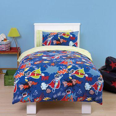 Hero Boys Vibrant Junior Toddler Bedding Set Http Www Childrens Rooms Co Uk Hero Boys Vibrant Junior Toddl Toddler Bed Set Toddler Bed Duvet Cot Bed Duvet