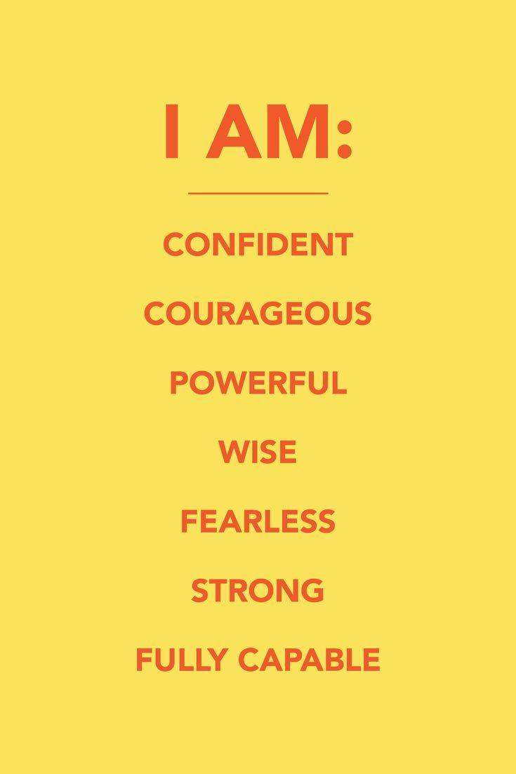 22 Positive Affirmations