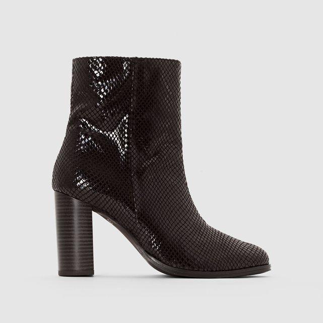 python Boots atelier RCHAUSSURESBottines effet cuir hxCQrtsodB
