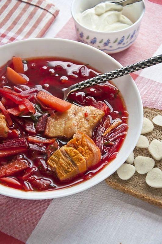 Борщ без капусты | Четыре вкуса | Борщ, Рецепты супов и ...