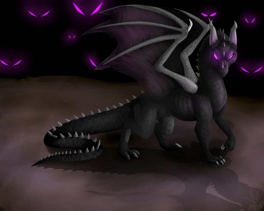 how to make a ender dragon
