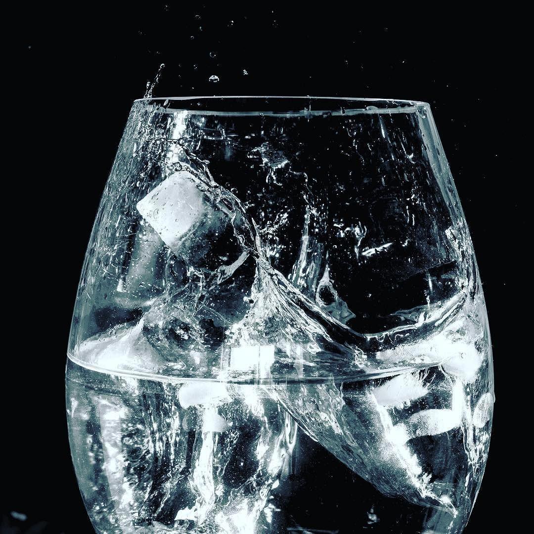 Laser tripwire vase ice cubes = good times. #arduino #d750 #nikon ...