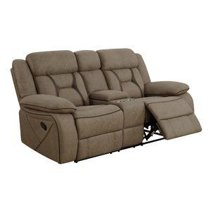 Terrific Tien Reclining Motion Loveseat With Console By Latitude Run Gamerscity Chair Design For Home Gamerscityorg