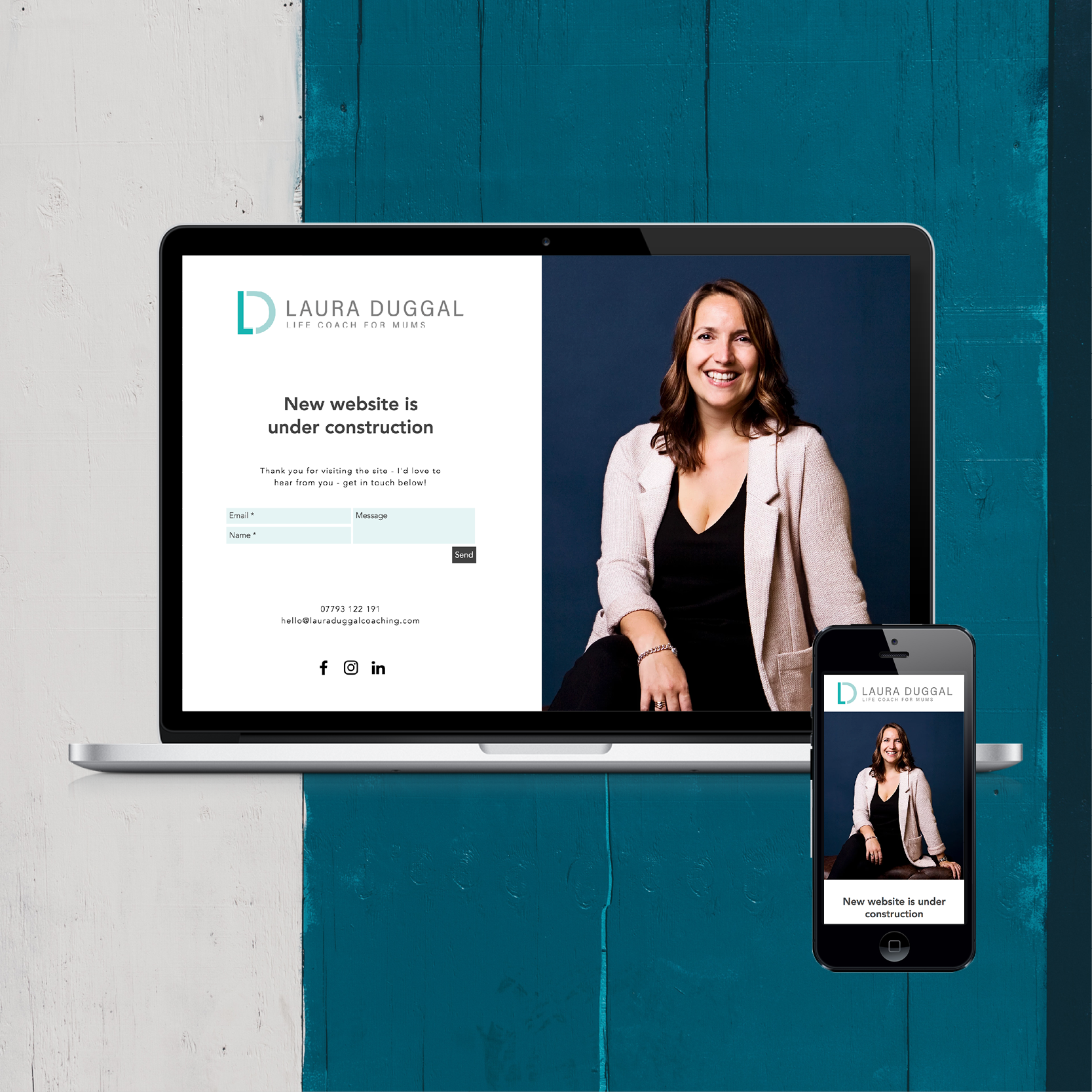 A Landing Page Designed By Rogue Design Cheltenham For Laura Duggal Coaching Career Coach Coaching Landing Page Design