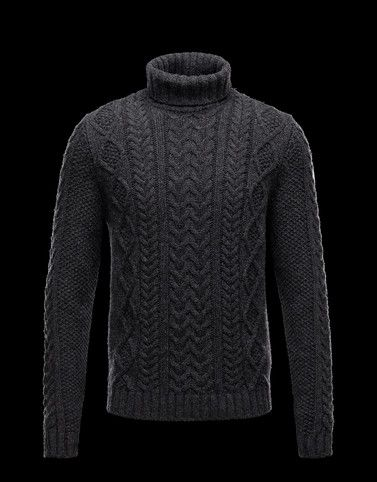 b05d1a741cc8 MONCLER Men - Fall Winter 12 - KNITWEAR - High neck sweater -   l ...