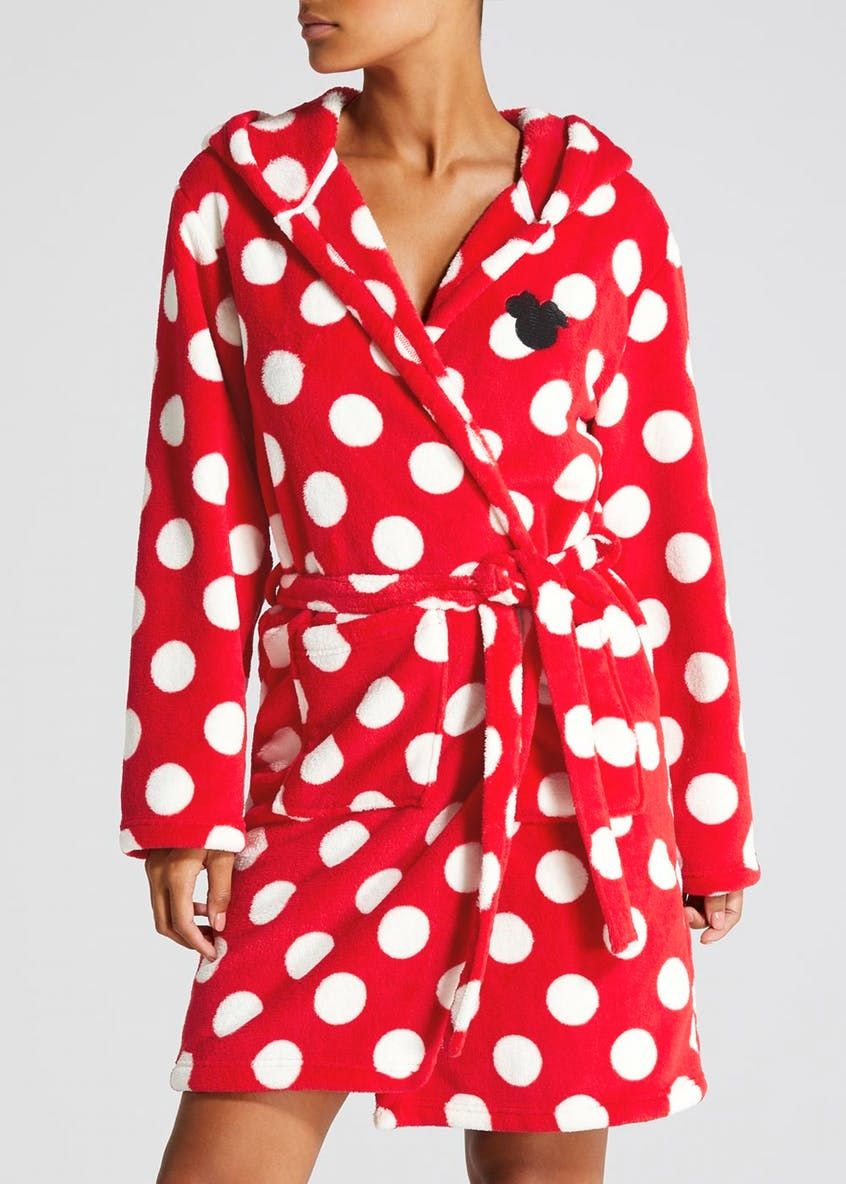 Disney minnie mouse dressing gown red gowns dresses