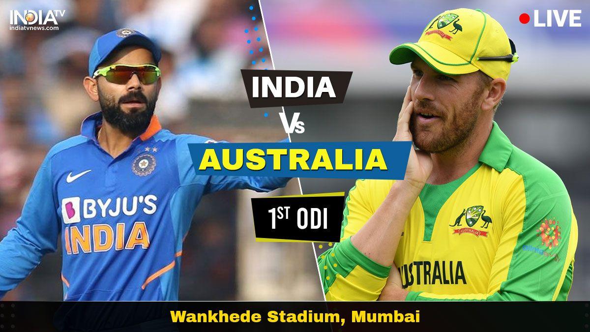 India vs Australia Live Streaming, 1st ODI Watch IND vs