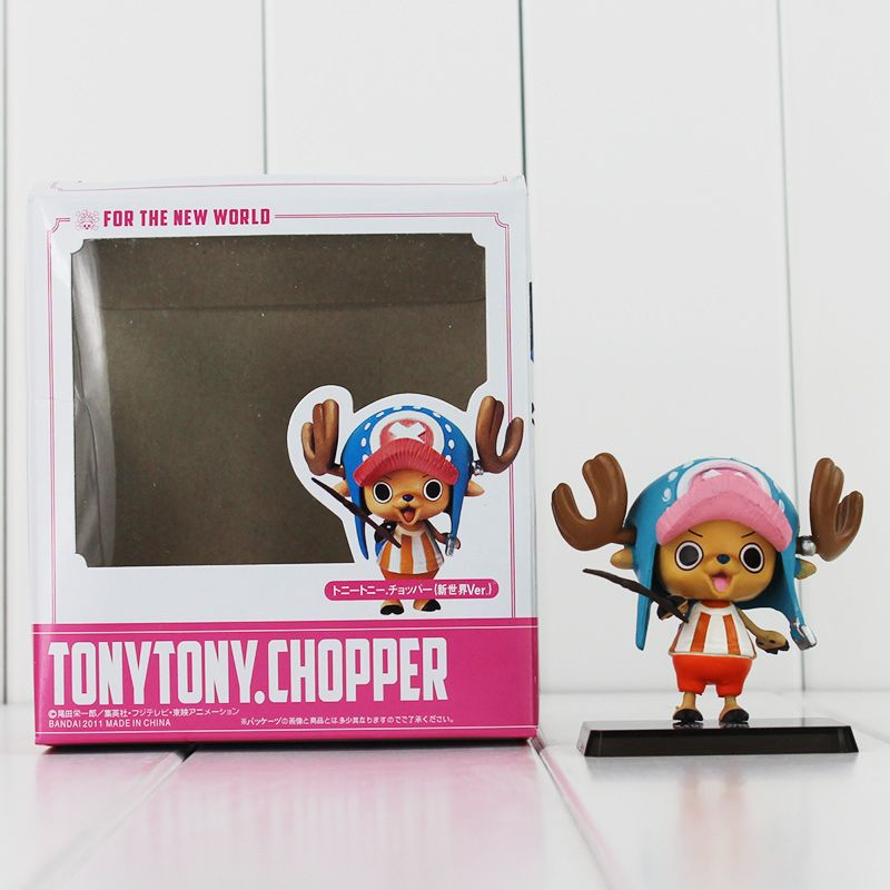 One Piece Tony Chopper Luffy Brook Characters 6 PCS Action Figure Kids Toys Gift