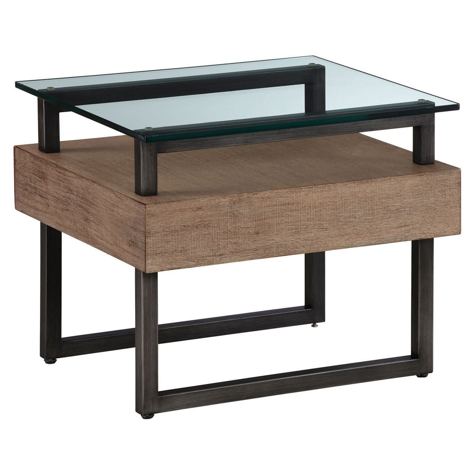 Palliser Furniture Slade Glass Top End Table In 2019 Products