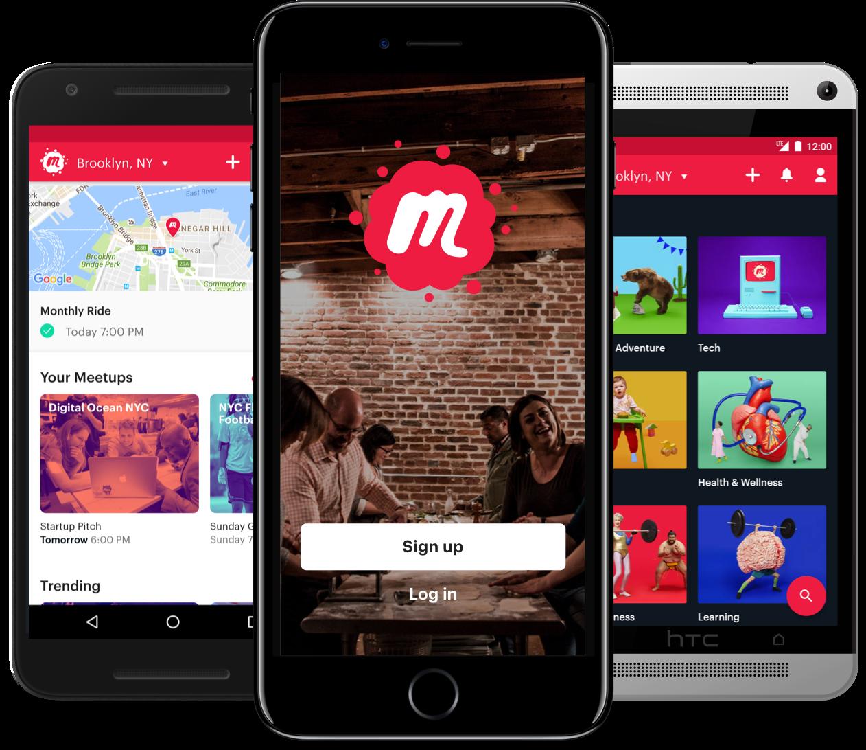 Meetup Rebrand News apps, Digital ocean, Blog