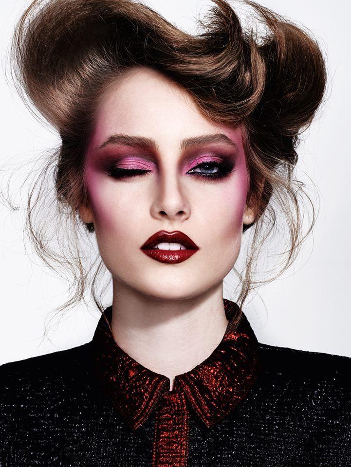Pin de loveslivesandcoffee en ❤❤ Fierce Red Family ❤❤ | Maquillaje  editorial de moda, Maquillaje de alta costura, Estilos de maquillaje