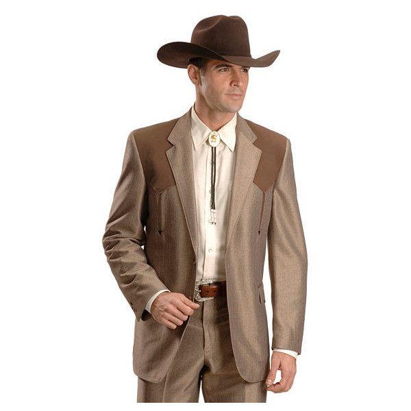 Circle S Boise Contrasting Yoke Western Suit Jacket Polyvore Western Suits Suit Jacket Suits