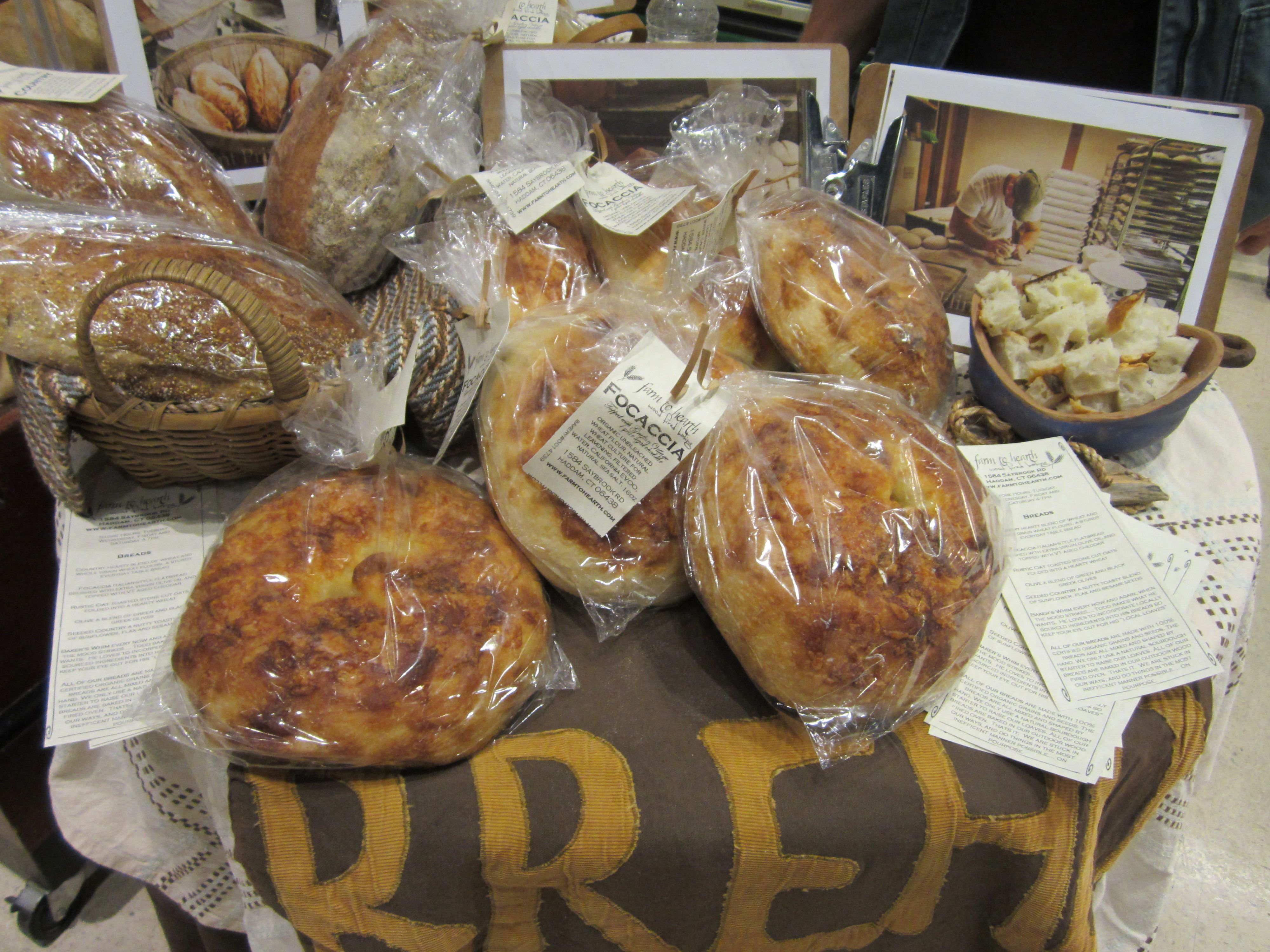 More Breads From Farm To Hearth Bakery In Haddam Ct Food Bakery Bread