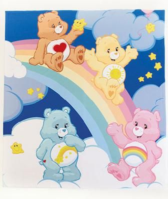 "50"" x 60"" Fleece Character Throws CAREBEARS"