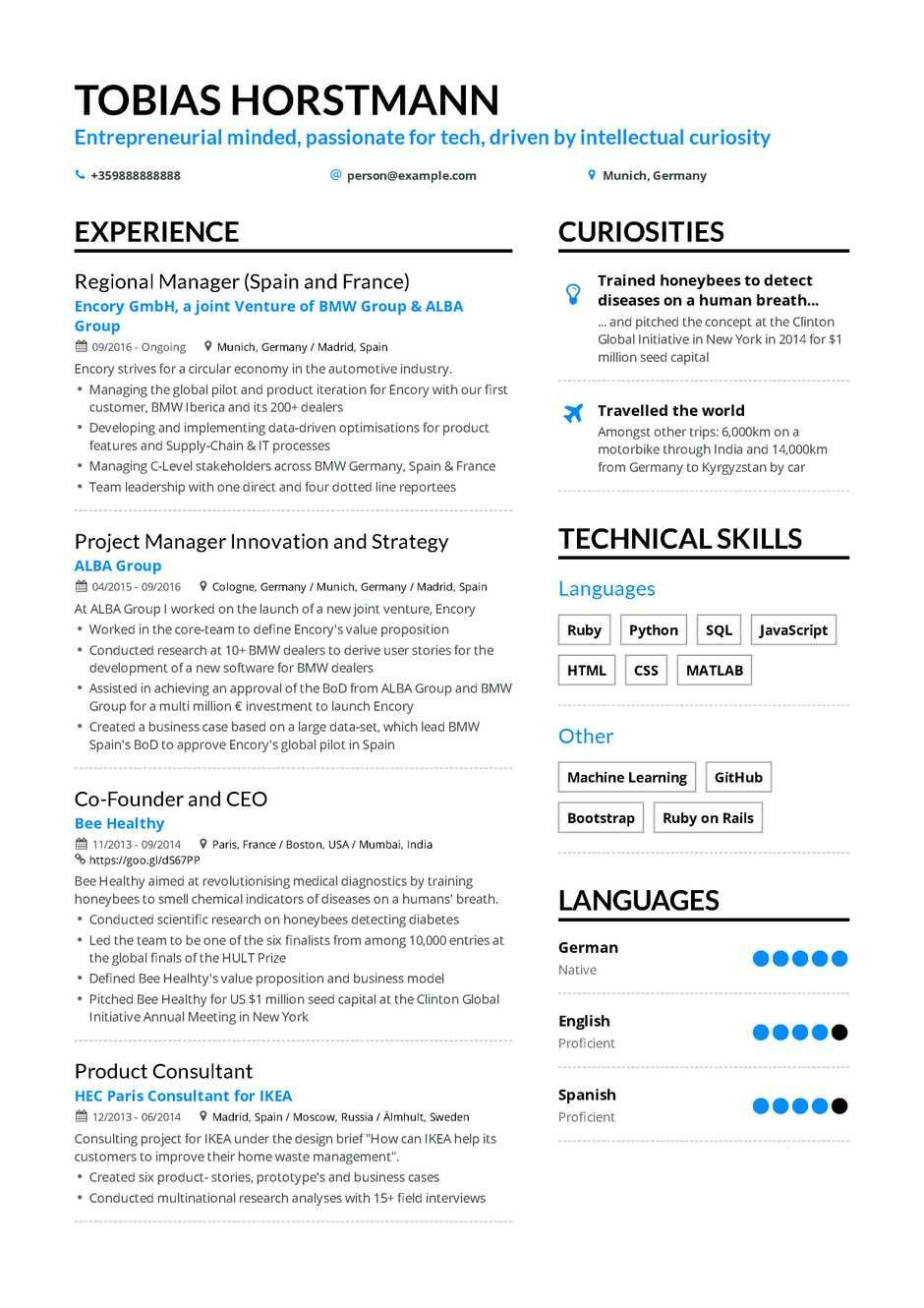 The best 2019 project manager resume example guide, ,best