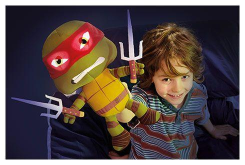 Go Glow Pal, la peluche lumineuse Raphael des Tortues Ninja jouet garçons
