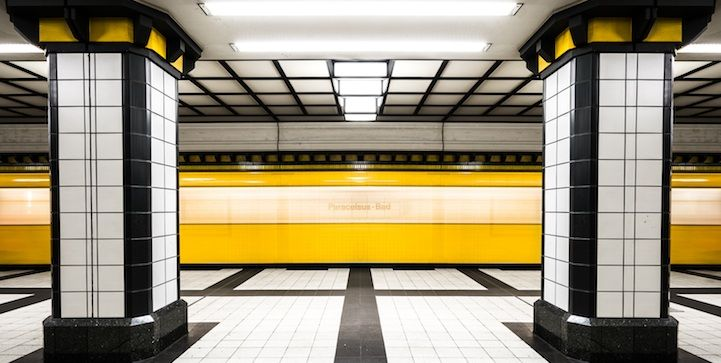 The Metro Project Reveals The Stunning Designs Of Stations Around - Vibrant photos of international subways capture their unappreciated beauty