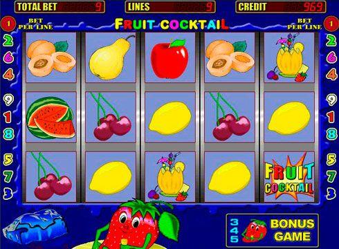 Cocktail игровые автоматы игровые автоматы плейтек мумия