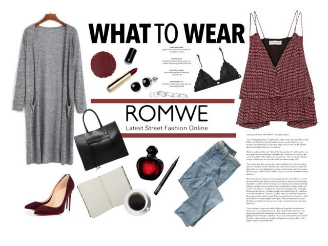"""""""#354"""" by blacksky000 ❤ liked on Polyvore featuring Apiece Apart, Rebecca Minkoff, Wrap, Kendra Scott, Belk & Co., Fleur of England, H&M, Burberry, Liberty and Cullen"""