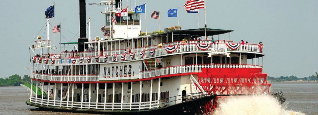 Steamboat Natchez Riverboat New Orleans
